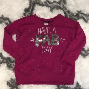 Gymboree sweatshirt 5/6